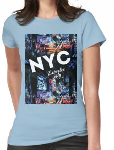 New-York Womens Fitted T-Shirt