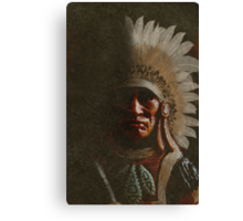 Old Chief Canvas Print