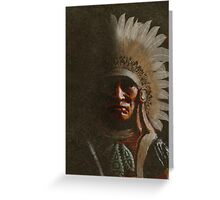 Old Chief Greeting Card