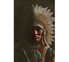 Old Chief Photographic Print