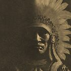 Old Chief in Sepia by Laura Redmond