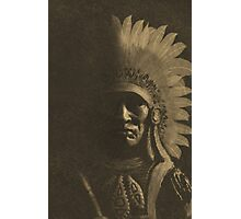 Old Chief in Sepia Photographic Print