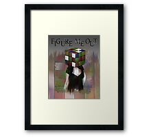 Figure Me Out FV Framed Print