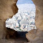 Whole in the Wall - Athens, Greece by George Moolman