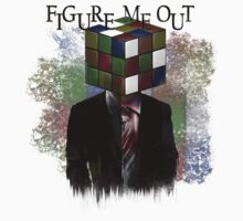 Figure Me Out text Baby Tee