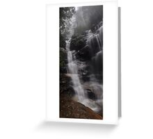 Sylvia Falls in the mist Greeting Card