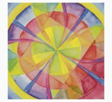 Colourful Circles One Piece - Short Sleeve