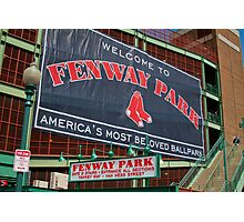 Fenway Pahk! Photographic Print