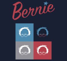 Retro Bernie Hair Shirt - Pop Art Pattern Kids Tee