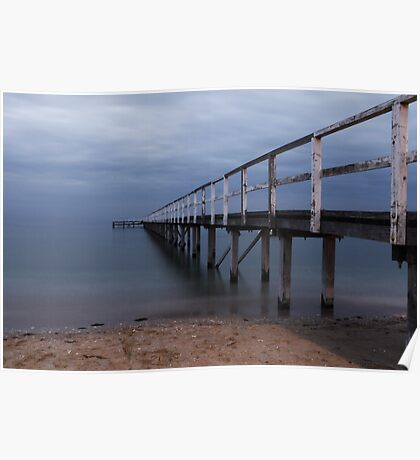 The Baths Pier Poster