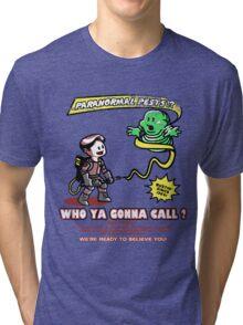 Paranormal Pest Exterminators Tri-blend T-Shirt