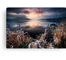 Frosty Sunrise - Co Armagh, Ireland Canvas Print