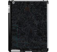 USGS Topo Map Oregon Willow Lake 20110808 TM Inverted iPad Case/Skin