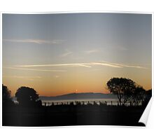 Barmouth Sunset Poster