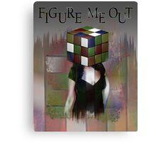 Figure Me Out FV text Canvas Print