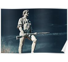 Lexington Minuteman Lexington Massachusetts Poster