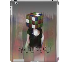 Figure Me Out FV text iPad Case/Skin