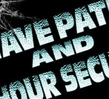 Patrols Sticker