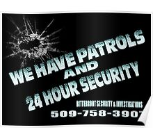 Patrols Poster