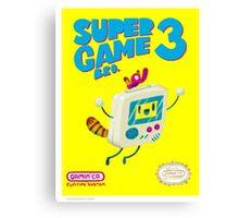 Super Game Bro 3 Canvas Print