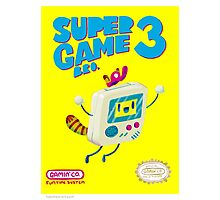 Super Game Bro 3 Photographic Print