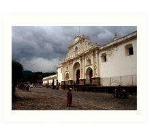 Antigua Guatemala Art Print
