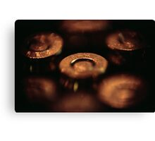 9 mm Two Canvas Print