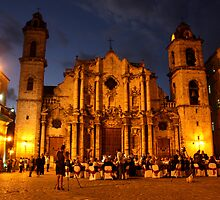 Havana Cathedral by Roman Romanenko