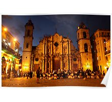 Havana Cathedral Poster