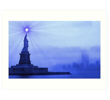 Rays of Liberty Art Print
