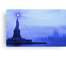 Rays of Liberty Canvas Print