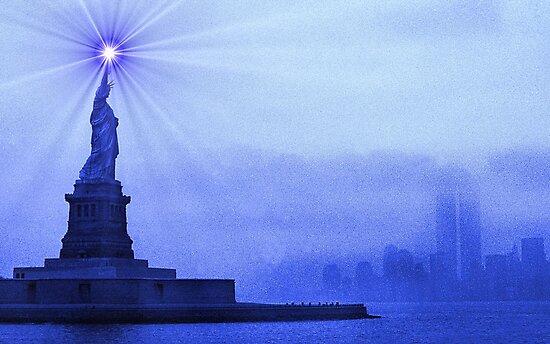 Rays of Liberty by Omar Dakhane