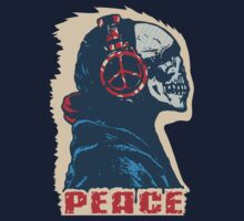 Peace Skull by ElectricRay