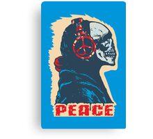 Peace Skull Canvas Print