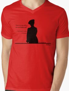Moral Highground Mens V-Neck T-Shirt