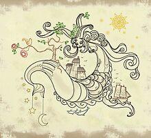 Gorgon Earth Mythology Color Cream by fchagora