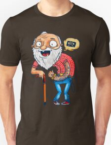Modern Grandpa Unisex T-Shirt