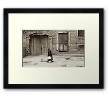 sneakers... Framed Print