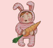 Mom's Bunny One Piece - Long Sleeve