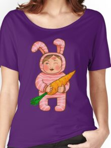 Mom's Bunny Women's Relaxed Fit T-Shirt