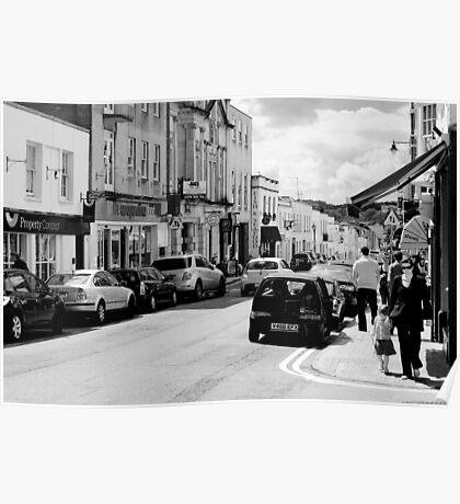 Princess Victoria Street, Bristol Poster