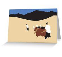 Cows 2 Greeting Card