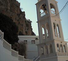 Church In Greek Island by fchagora