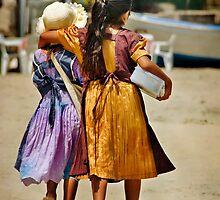 Best Friends - Guayabitos, Mexico by Lynnette Peizer