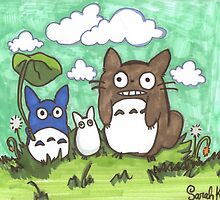 My Neighbor Totoro by sketron