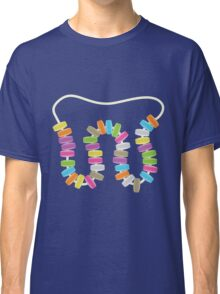 Candy Letter Series - Letter W (uppercase) Classic T-Shirt