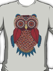 Pattern Owl T-Shirt