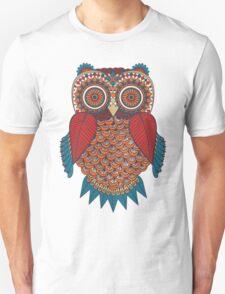 Pattern Owl Unisex T-Shirt