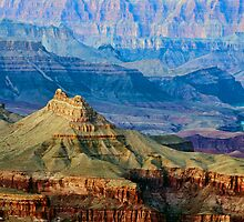 Grand Canyon from south rim   by JimGuy