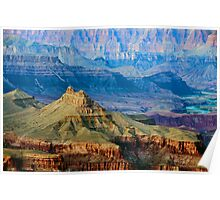 Grand Canyon from south rim   Poster